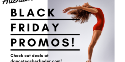 dance studio owner black friday promotions to save money with deals